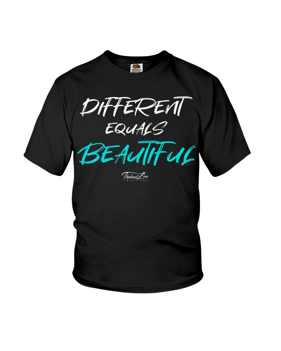 Different Equals Beautiful 2 Youth T-Shirt