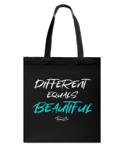 Different Equals Beautiful 2 Tote Bag thumbnail