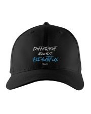 Different Equals Beautiful 2 Embroidered Hat thumbnail