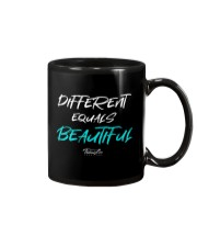 Different Equals Beautiful 2 Mug thumbnail