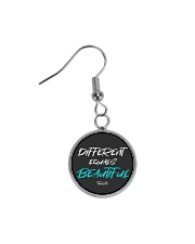 Different Equals Beautiful 2 Circle Earrings thumbnail