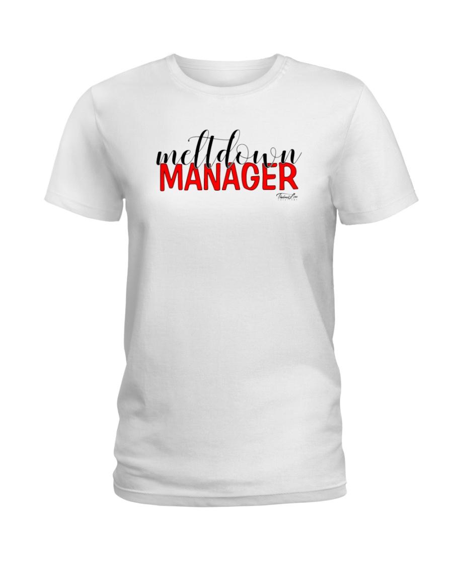 Meltdown Manager 2 Ladies T-Shirt