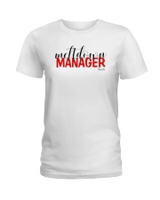Meltdown Manager 2 Ladies T-Shirt front