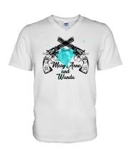 Mary Anne and Wanda - 2 V-Neck T-Shirt thumbnail