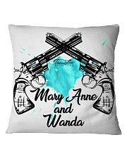 Mary Anne and Wanda - 2 Square Pillowcase thumbnail
