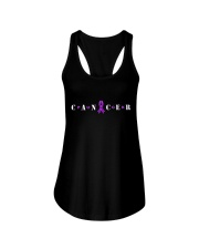 The Cancer Ribbon Ladies Flowy Tank tile