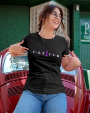 The Cancer Ribbon Ladies T-Shirt apparel-ladies-t-shirt-lifestyle-01