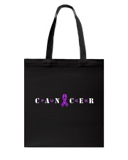 The Cancer Ribbon Tote Bag front