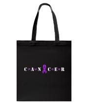The Cancer Ribbon Tote Bag thumbnail