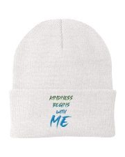 Kindness Begins With Me 2 Knit Beanie thumbnail