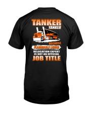 Special Shirt - TANKER YANKER Classic T-Shirt back