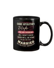 Special Shirt - Crane Operator's Wife Mug thumbnail