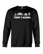 Special Shirt - Today's Agenda Crewneck Sweatshirt thumbnail