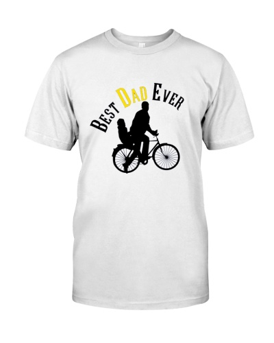 Best Dad Ever Bicycle  Fathers Day Gift