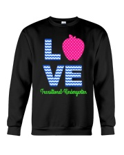 Love Transitional Kindergarten Shirt For Teacher K Crewneck Sweatshirt thumbnail