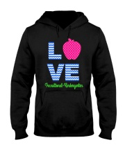 Love Transitional Kindergarten Shirt For Teacher K Hooded Sweatshirt thumbnail