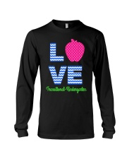 Love Transitional Kindergarten Shirt For Teacher K Long Sleeve Tee thumbnail