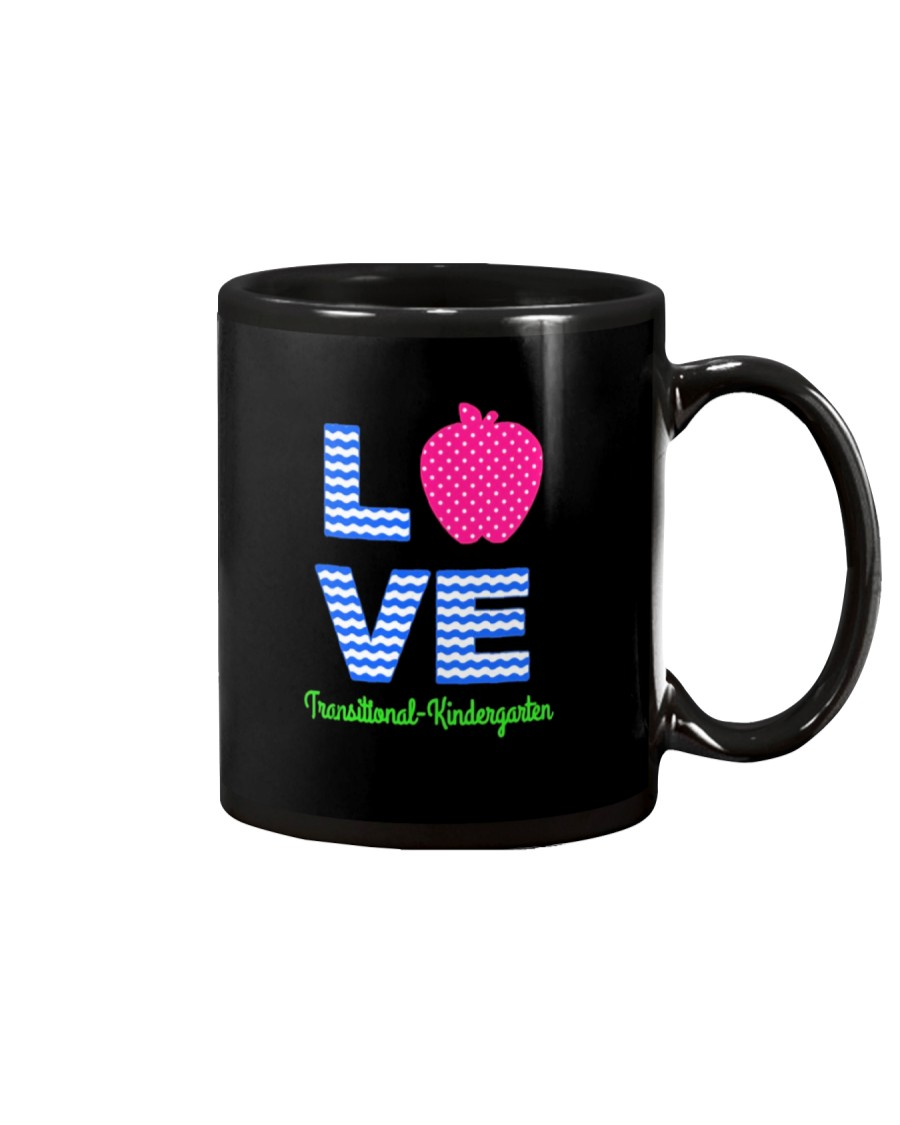 Love Transitional Kindergarten Shirt For Teacher K Mug