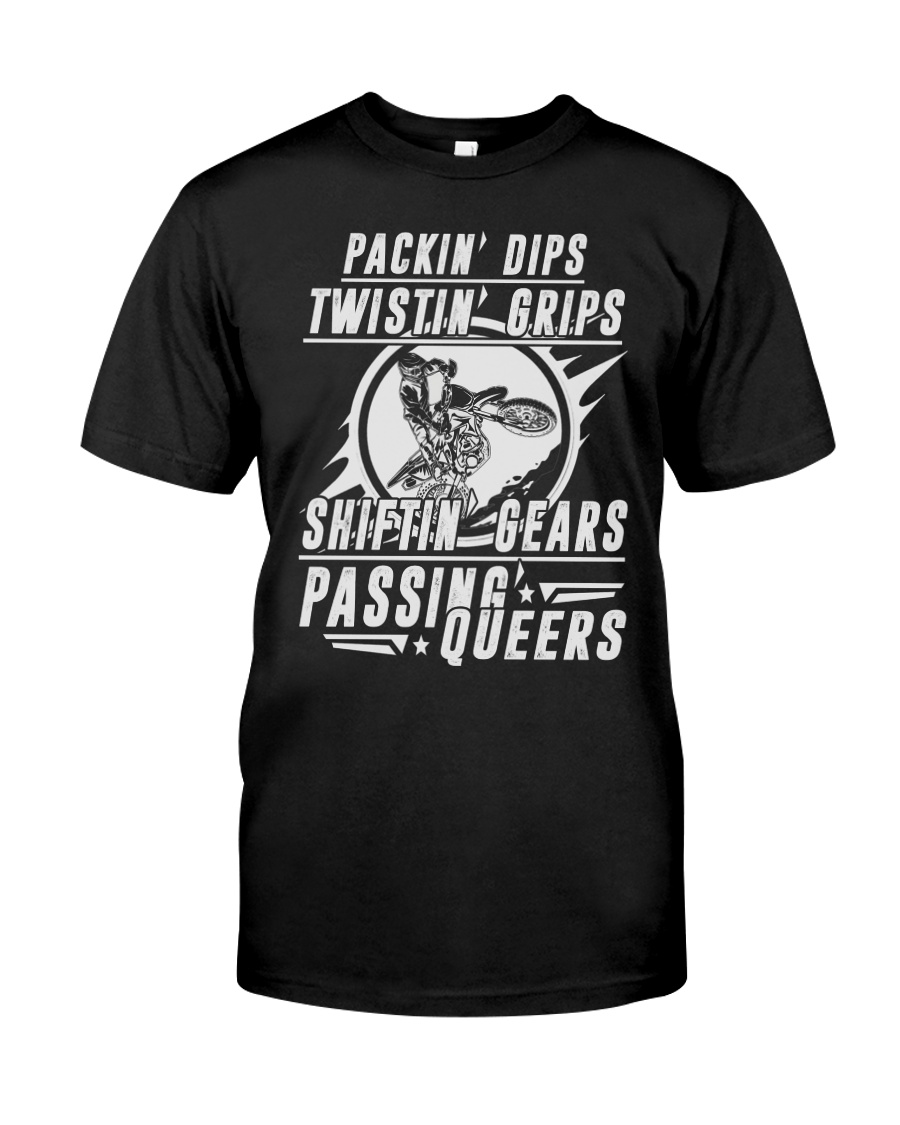 SHIFTIN' GEARS - PASSING QUEERS Classic T-Shirt