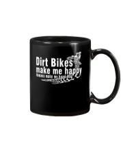 Dirt Bikes make me happy Mug thumbnail