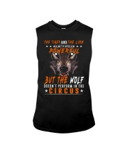 The Wolf Tshirt - Font print Sleeveless Tee tile