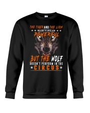 The Wolf Tshirt - Font print Crewneck Sweatshirt tile