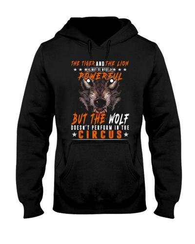 The Wolf Tshirt - Font print