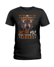 The Wolf Tshirt - Font print Ladies T-Shirt tile