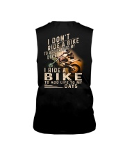 MX SHIRT -I RIDE A BIKE TO ADD LIFE TO MY DAYS Sleeveless Tee thumbnail