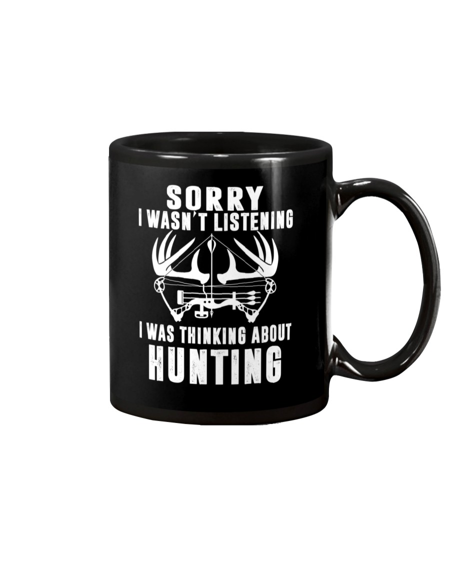 Funny Hunting mug Gift for Bow and Rifle Deer H Mug