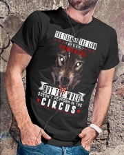 The Wolf Tshirt Classic T-Shirt lifestyle-mens-crewneck-front-4