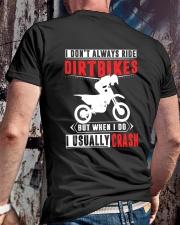 I RIDE DIRTBIKES Classic T-Shirt lifestyle-mens-crewneck-back-2