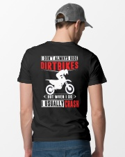 I RIDE DIRTBIKES Classic T-Shirt lifestyle-mens-crewneck-back-6