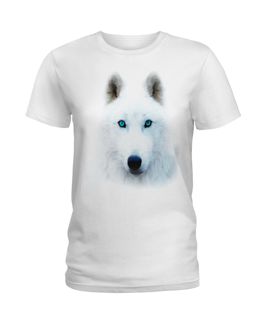 I LOVE WOLF Ladies T-Shirt