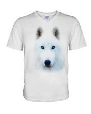 I LOVE WOLF V-Neck T-Shirt thumbnail