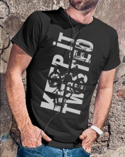 KEEP IT - TWISTED Tshirt Classic T-Shirt lifestyle-mens-crewneck-front-4