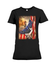 Rider Flag Tshirt Premium Fit Ladies Tee thumbnail