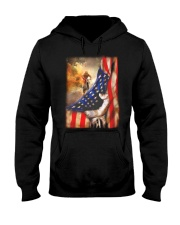 Rider Flag Tshirt Hooded Sweatshirt thumbnail