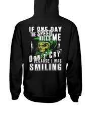 DON'T CRY BECAUSE I WAS SMILING Hooded Sweatshirt back