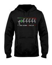ONE DOWN-FIVE  UP Hooded Sweatshirt front