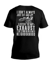LISTEN TO MY EXHAUST V-Neck T-Shirt thumbnail