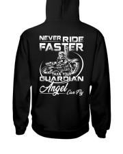 Never Ride Faster Than Your Guardian Angel Can Fly Hooded Sweatshirt thumbnail