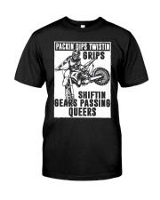 SHIFTIN GEARS PASSING QUEERS Classic T-Shirt front