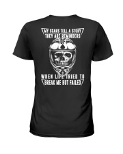 My Scars Tell A Story Ladies T-Shirt thumbnail