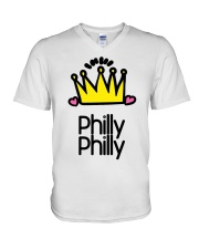 Philly Philly V-Neck T-Shirt front