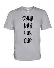SHUH DUH FUH CUP V-Neck T-Shirt thumbnail