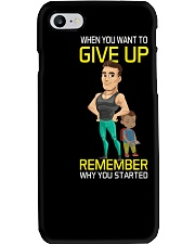 DO NOT GIVE UP MOTIVATION Phone Case thumbnail