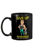 DO NOT GIVE UP MOTIVATION Mug back