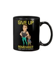 DO NOT GIVE UP MOTIVATION Mug front