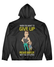 DO NOT GIVE UP MOTIVATION Men's All Over Print Hoodie thumbnail